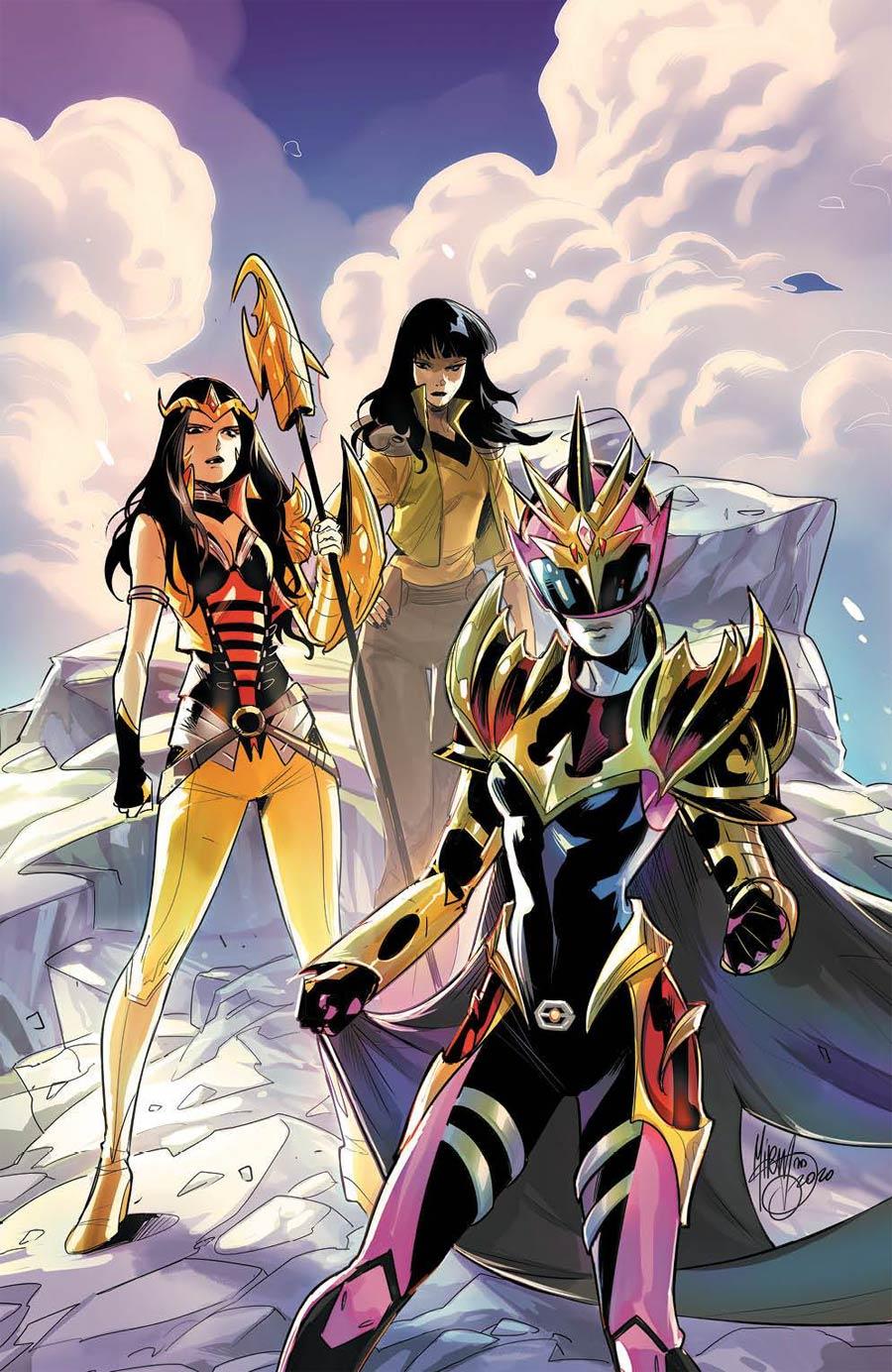 Power Rangers Drakkon New Dawn #2 Cover C Incentive Dan Mora Color Variant Cover