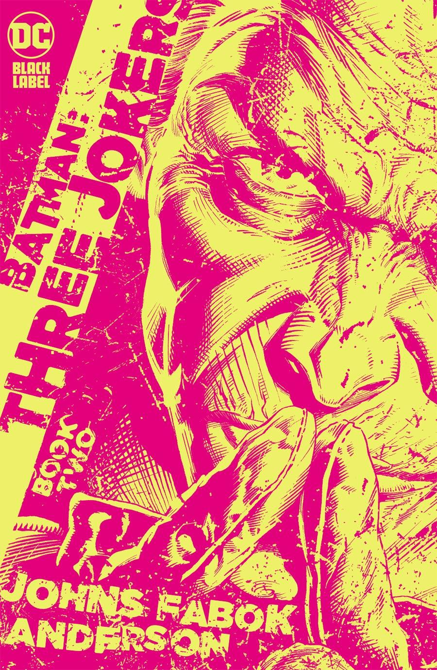 Batman Three Jokers #2 Cover C Incentive Jason Fabok Yellow Variant Cover