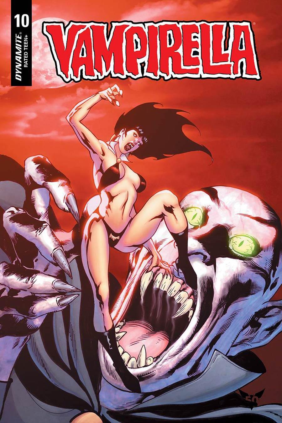 Vampirella Vol 8 #10 Cover F Variant Roberto Castro Cover