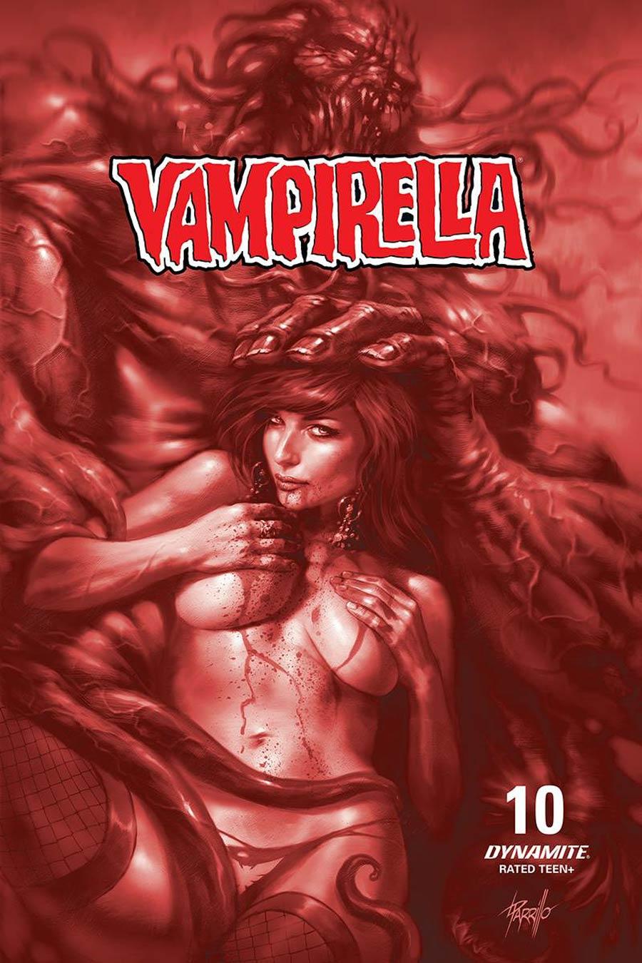 Vampirella Vol 8 #10 Cover L Incentive Lucio Parrillo Tint Cover