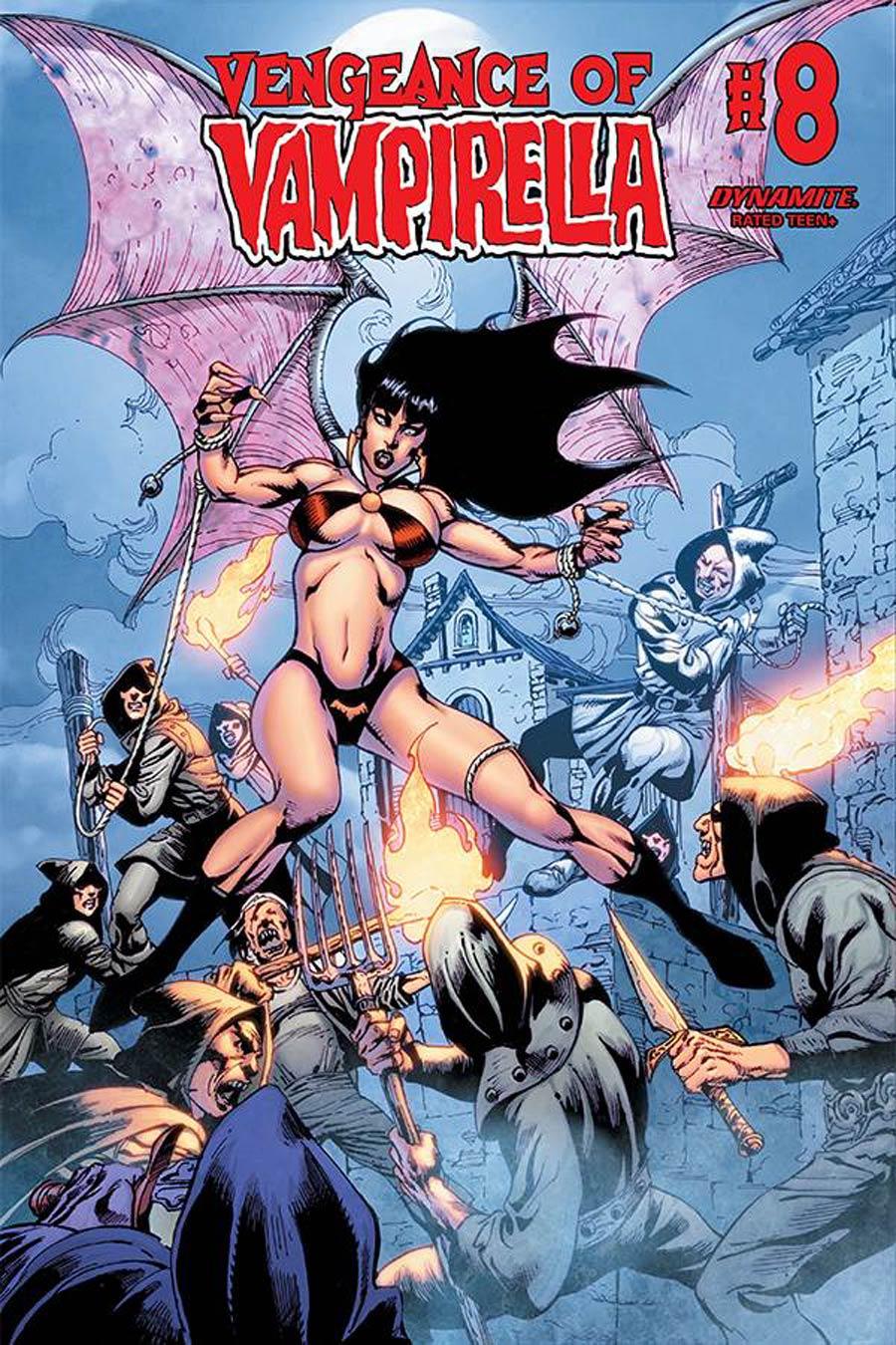 Vengeance Of Vampirella Vol 2 #8 Cover E Variant Roberto Castro Cover