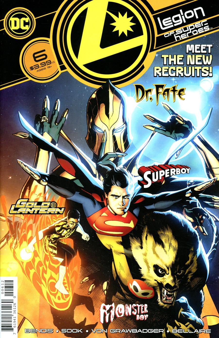Legion Of Super-Heroes Vol 8 #6 Cover C 2nd Ptg