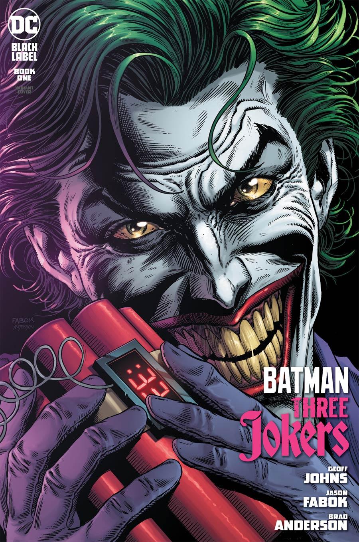 Batman Three Jokers #1 Premium Variant C Jason Fabok Bomb Cover