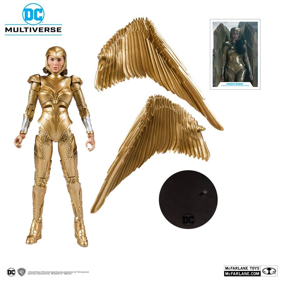 DC Multiverse Wonder Woman 1984 Wonder Woman Gold Armor 7-Inch Scale Action Figure