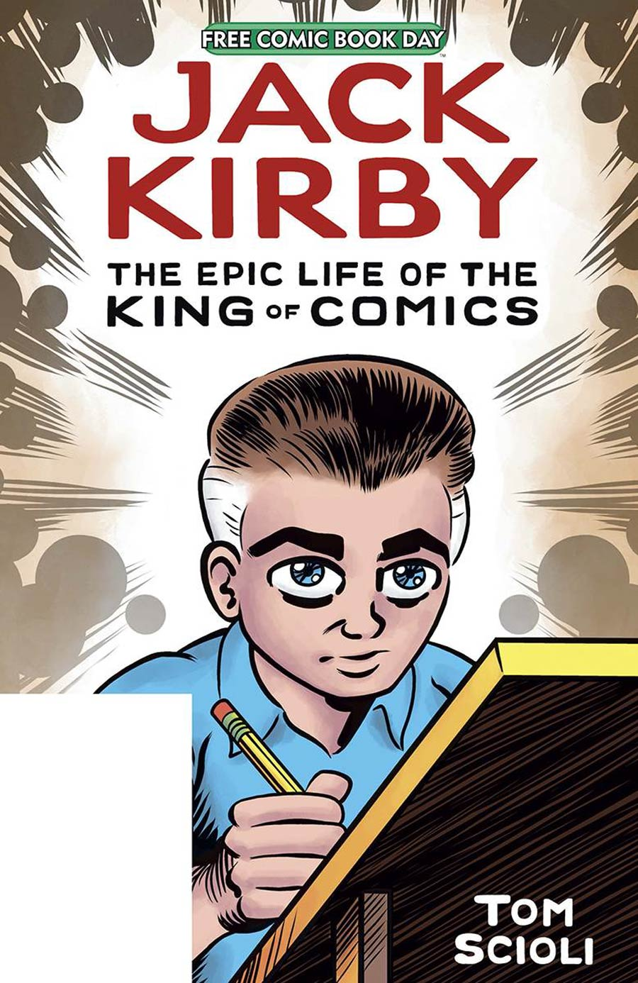 Jack Kirby The Epic Life Of The King Of Comics FCBD 2020