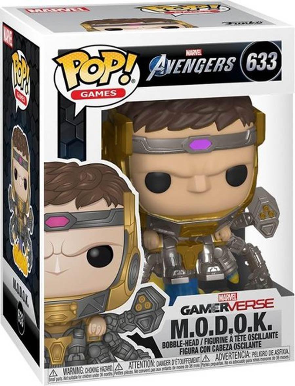 POP Marvel Marvels Avengers Game MODOK Vinyl Bobble Head
