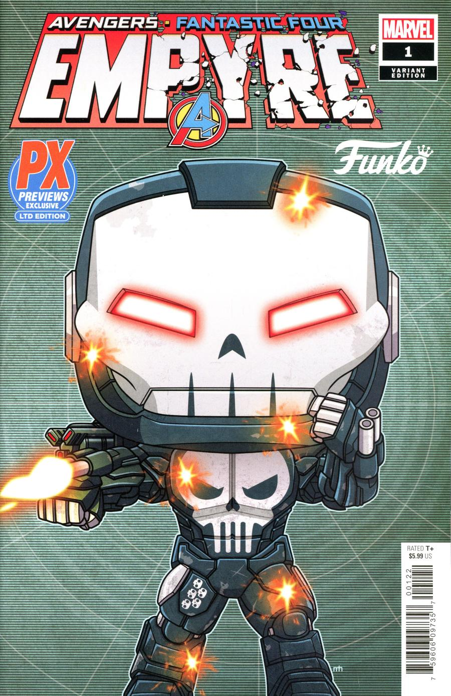 Empyre #1 Cover O Incentive Funko Variant Cover