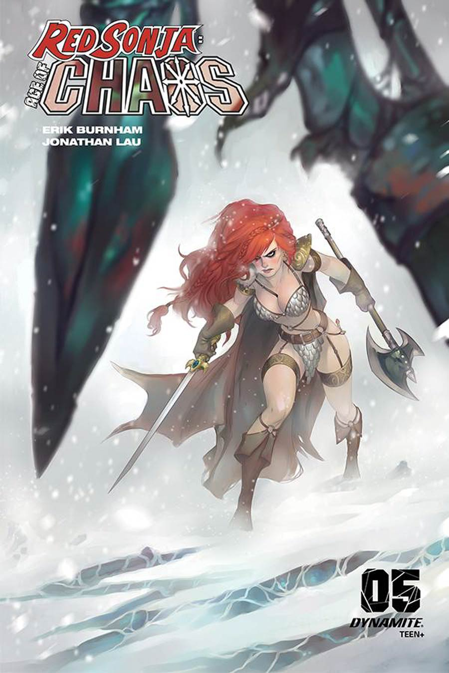 Red Sonja Age Of Chaos #5 Cover G Variant Meghan Hetrick Cover
