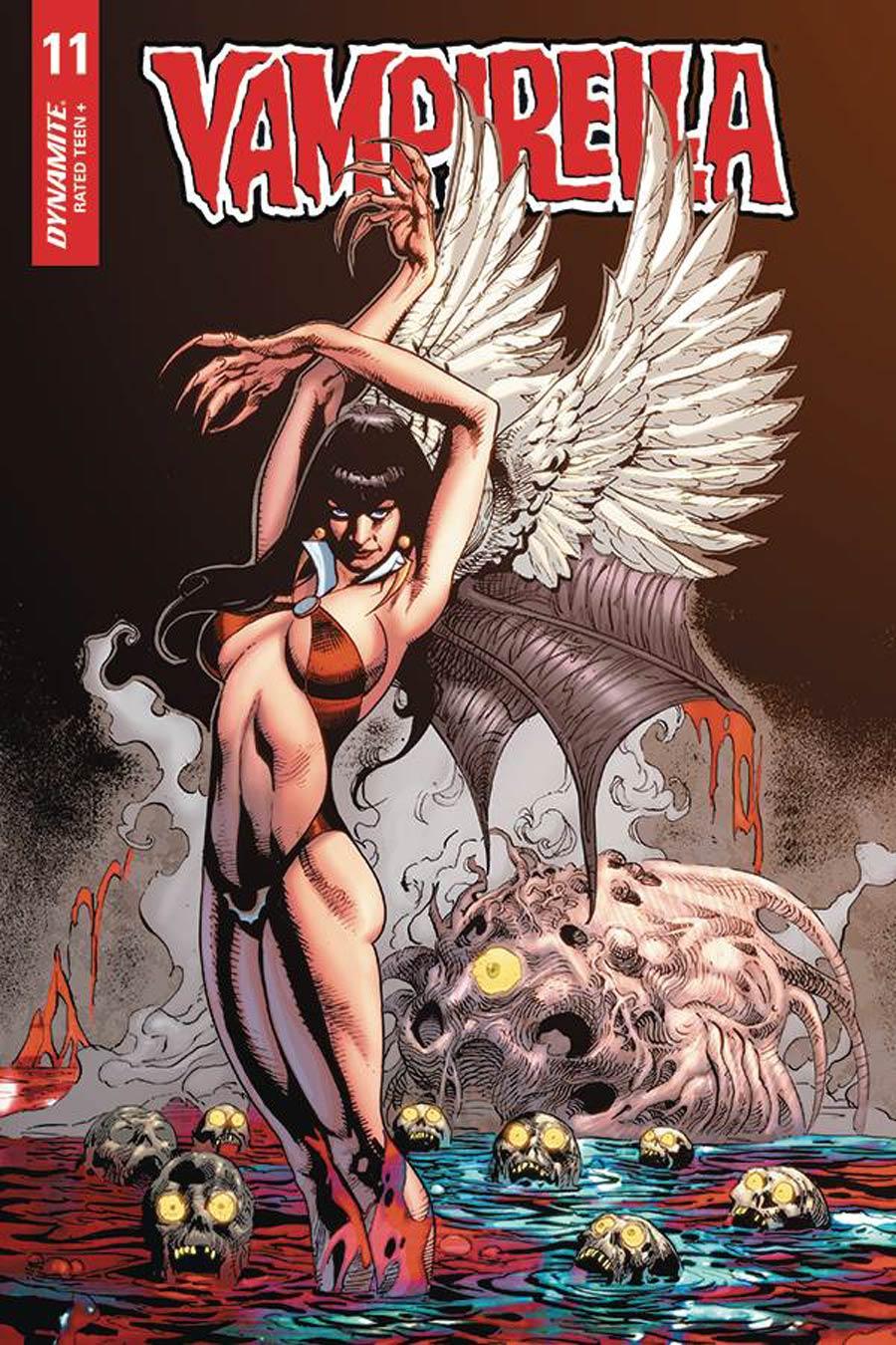 Vampirella Vol 8 #11 Cover F Variant Roberto Castro Cover