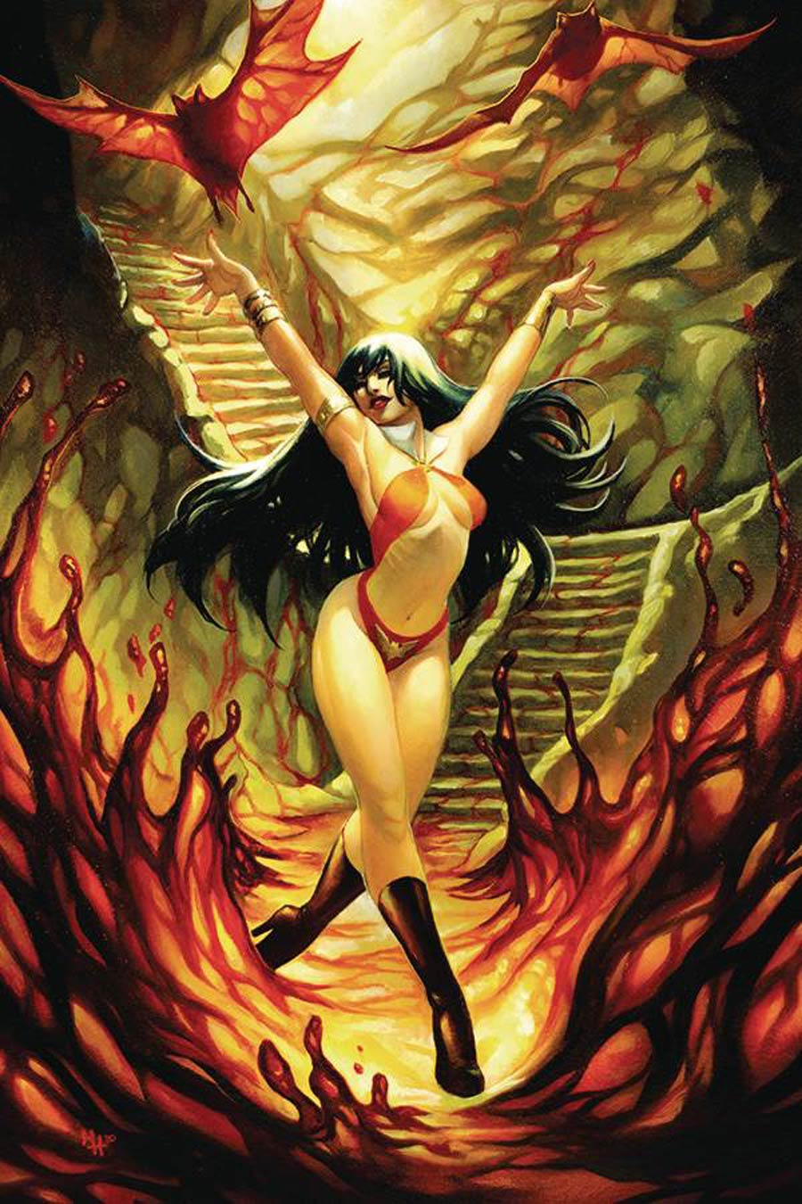 Vampirella Vol 8 #11 Cover K Incentive Meghan Hetrick Virgin Cover