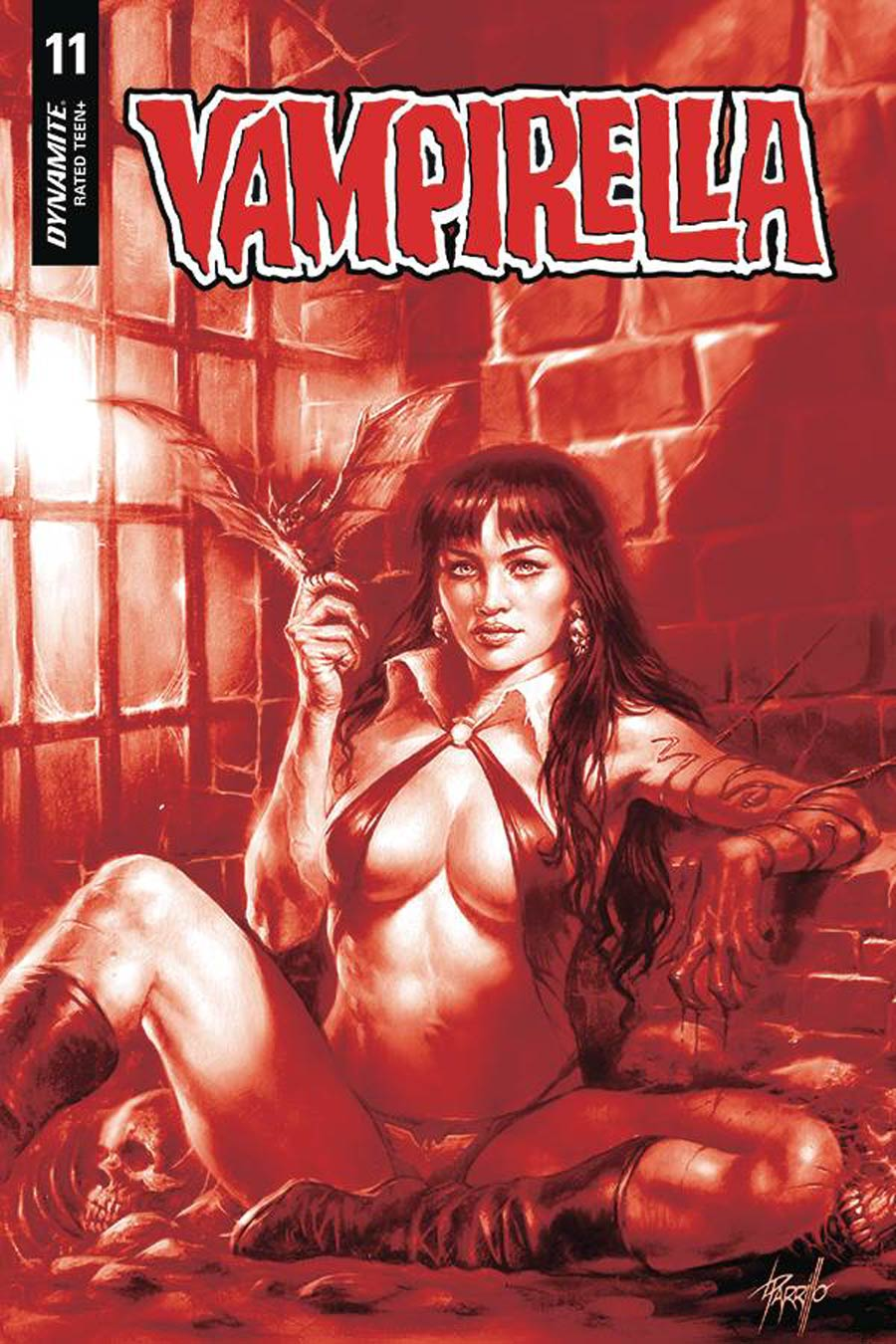 Vampirella Vol 8 #11 Cover L Incentive Lucio Parrillo Tint Cover