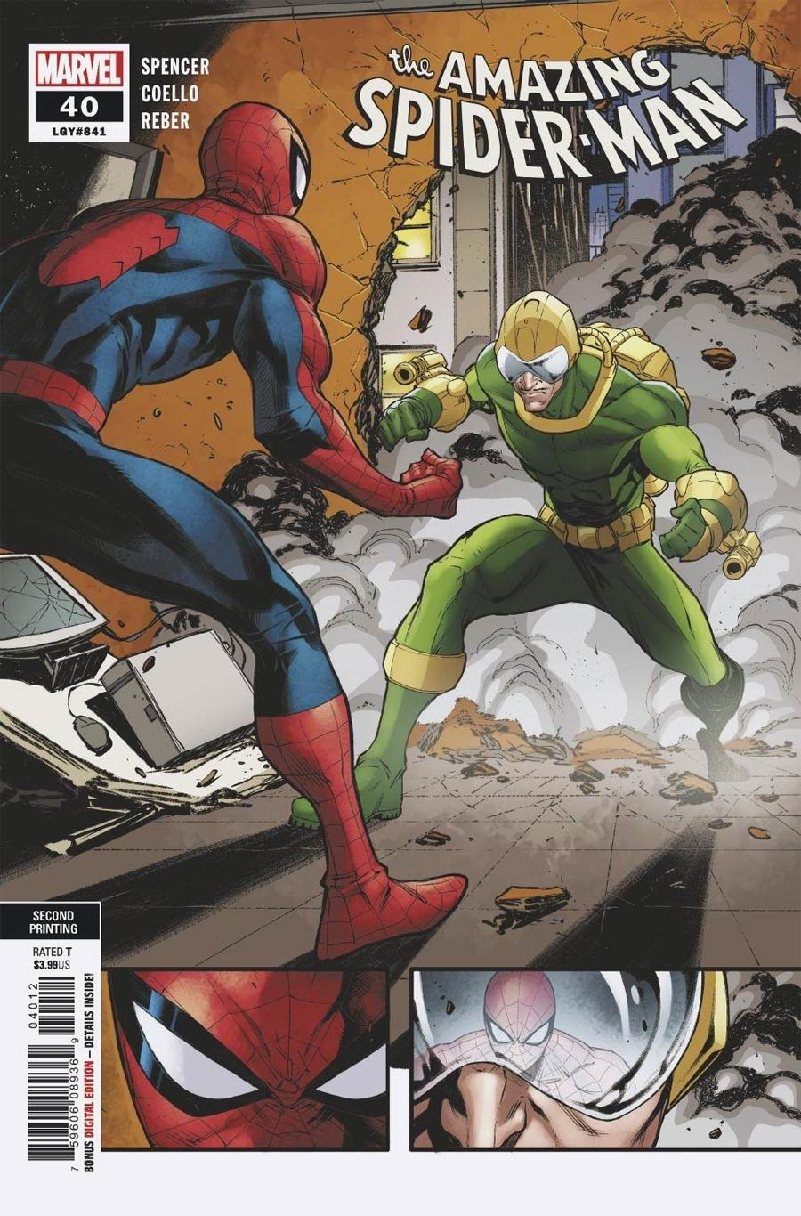 Amazing Spider-Man Vol 5 #40 Cover C 2nd Ptg Iban Coelle Variant Cover