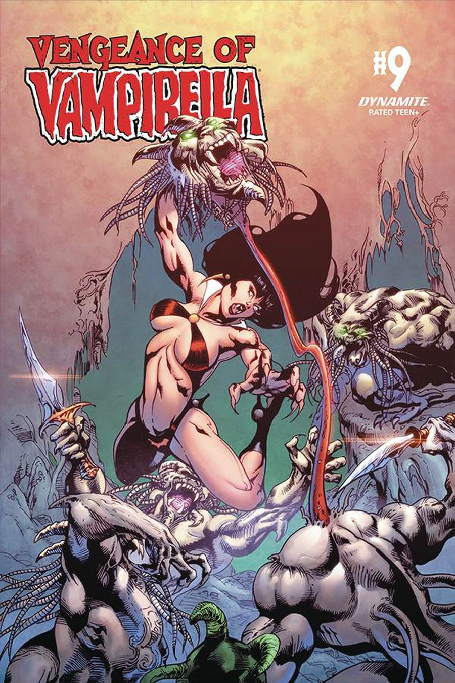 Vengeance Of Vampirella Vol 2 #9 Cover E Variant Roberto Castro Cover