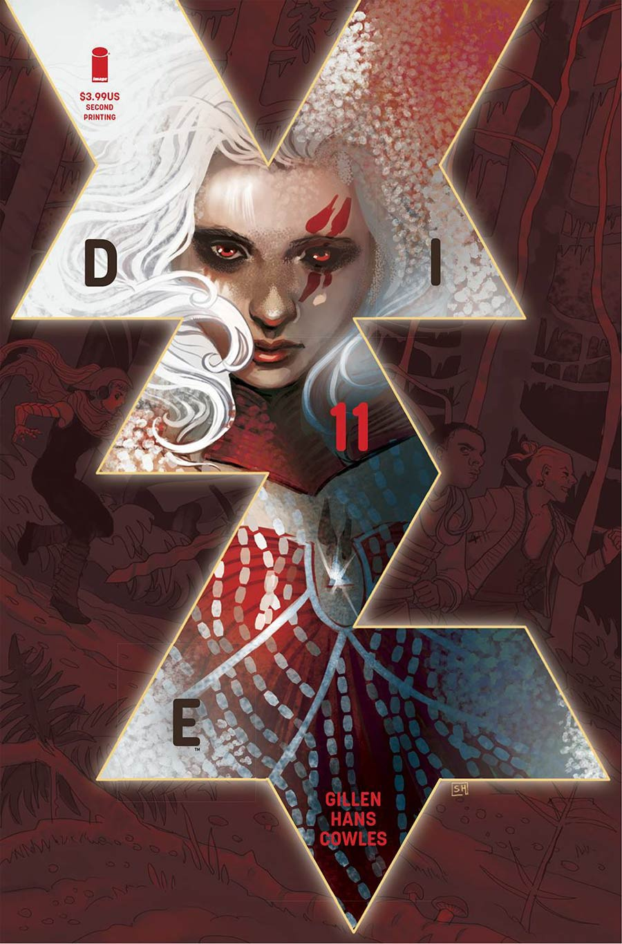 Die #11 Cover C 2nd Ptg