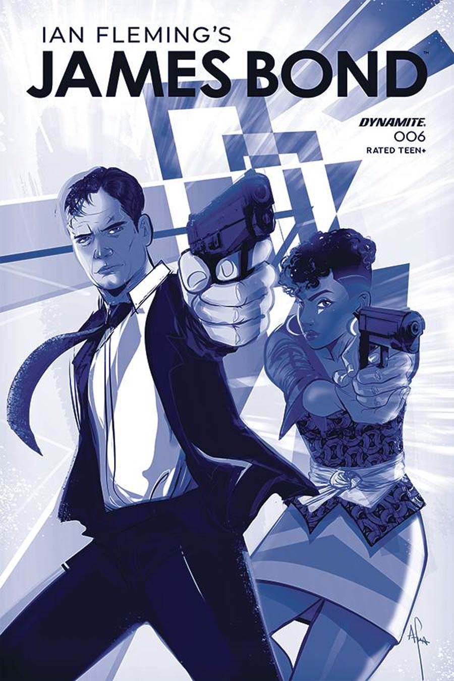 James Bond Vol 3 #6 Cover C Incentive Afua Richardson Tint Cover