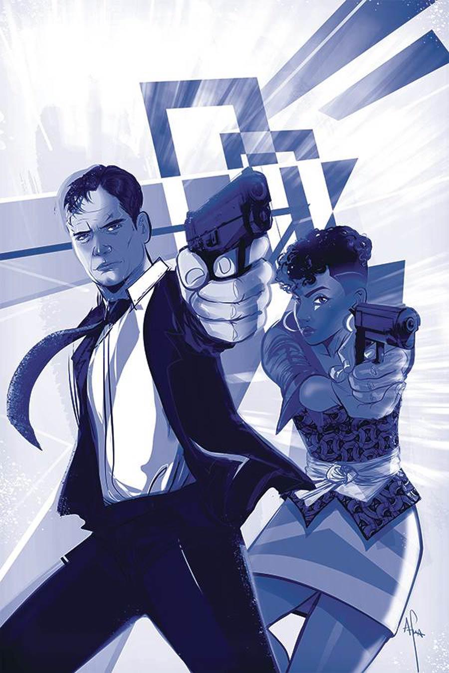 James Bond Vol 3 #6 Cover D Incentive Afua Richardson Tint Virgin Cover