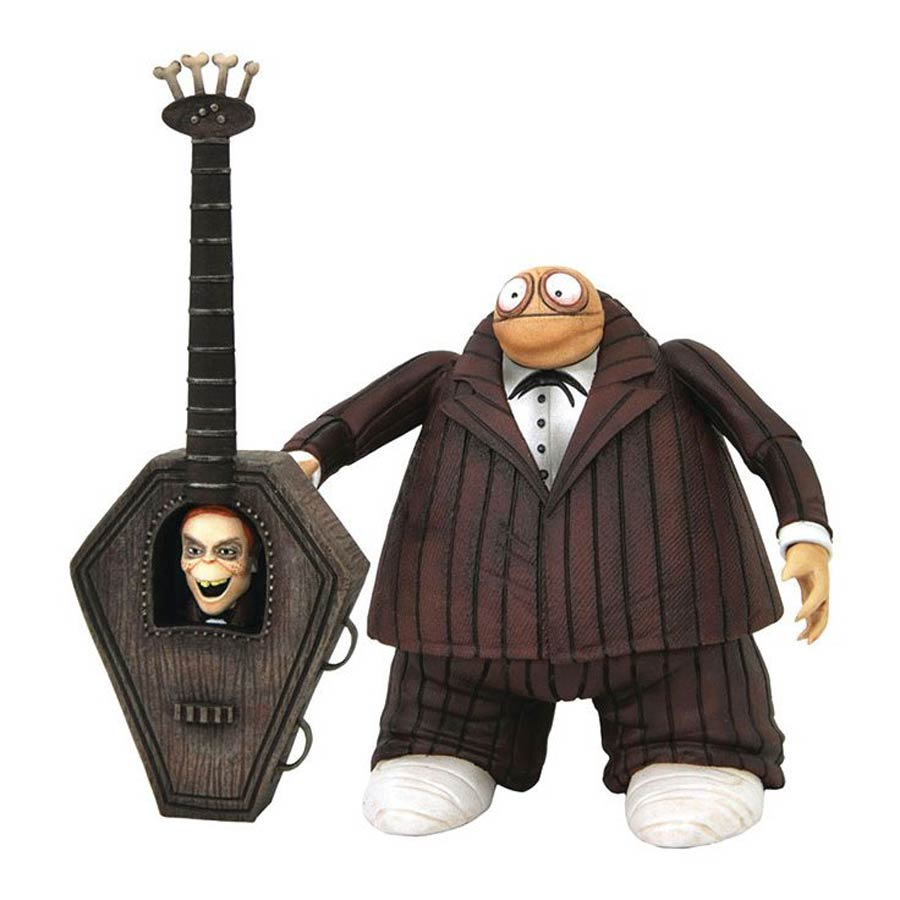 Nightmare Before Christmas Select Series 9 Action Figure - Zombie Bass Player