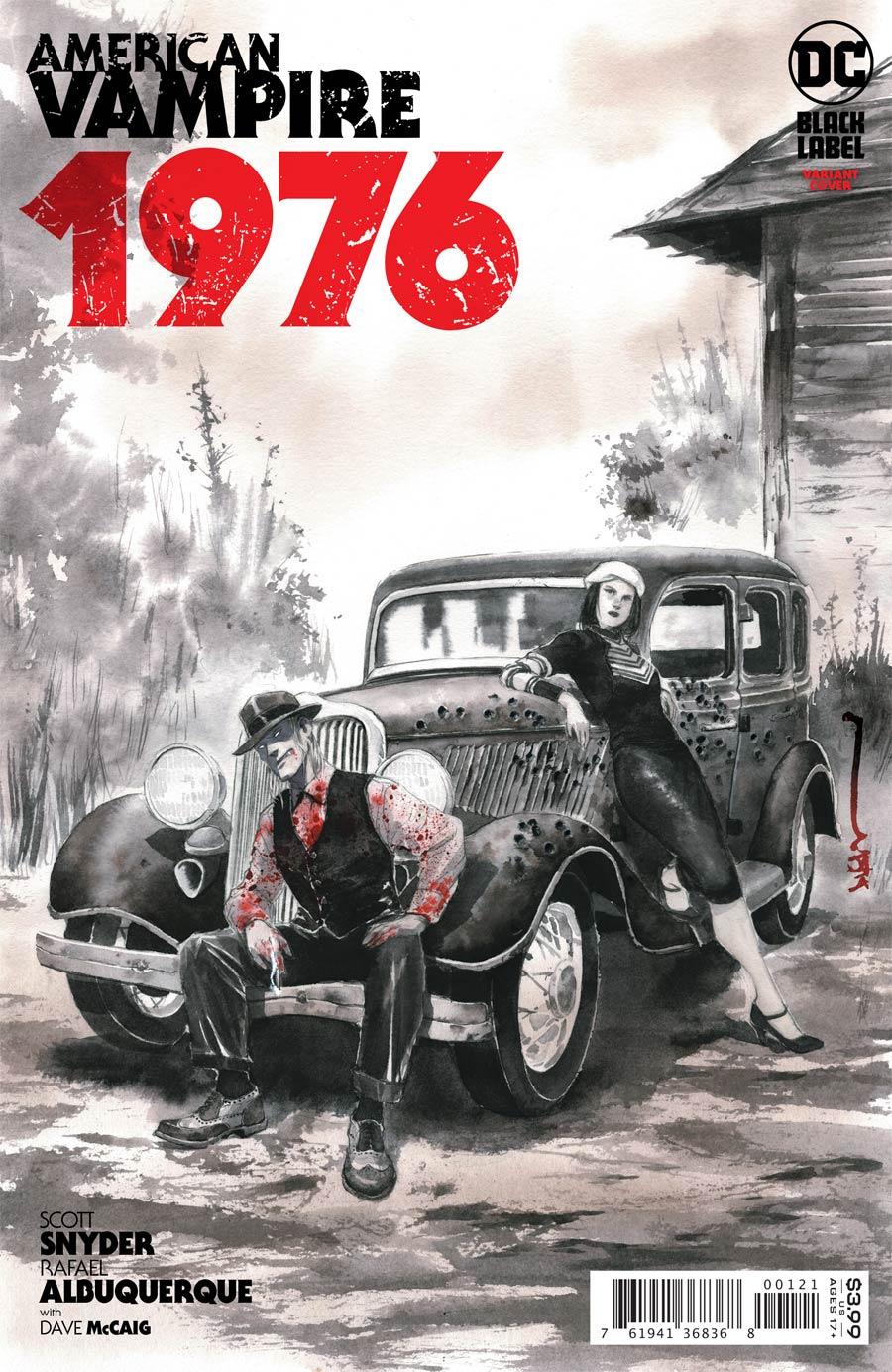 American Vampire 1976 #1 Cover B Variant Dustin Nguyen Cover