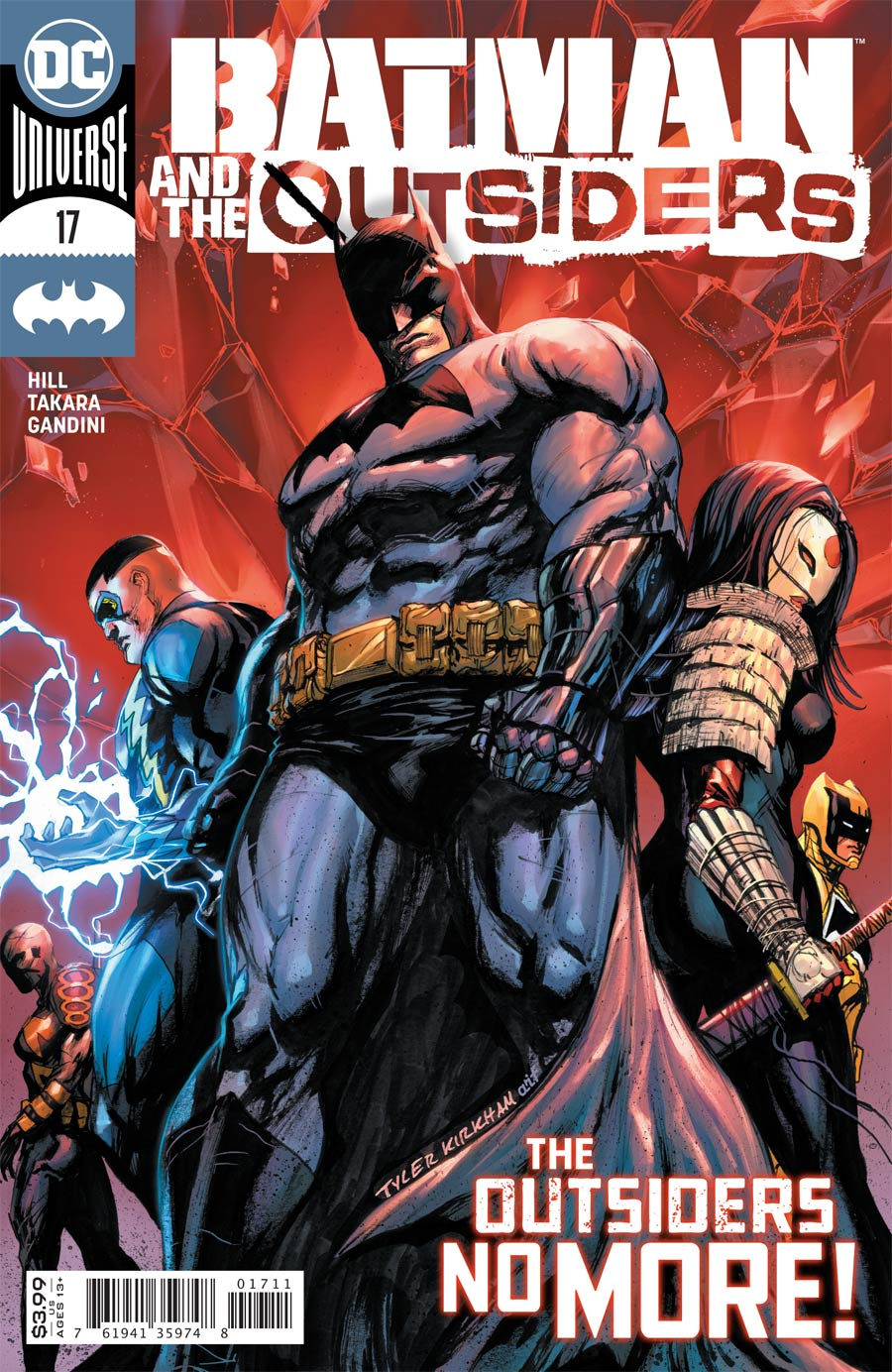 Batman And The Outsiders Vol 3 #17 Cover A Regular Tyler Kirkham Cover