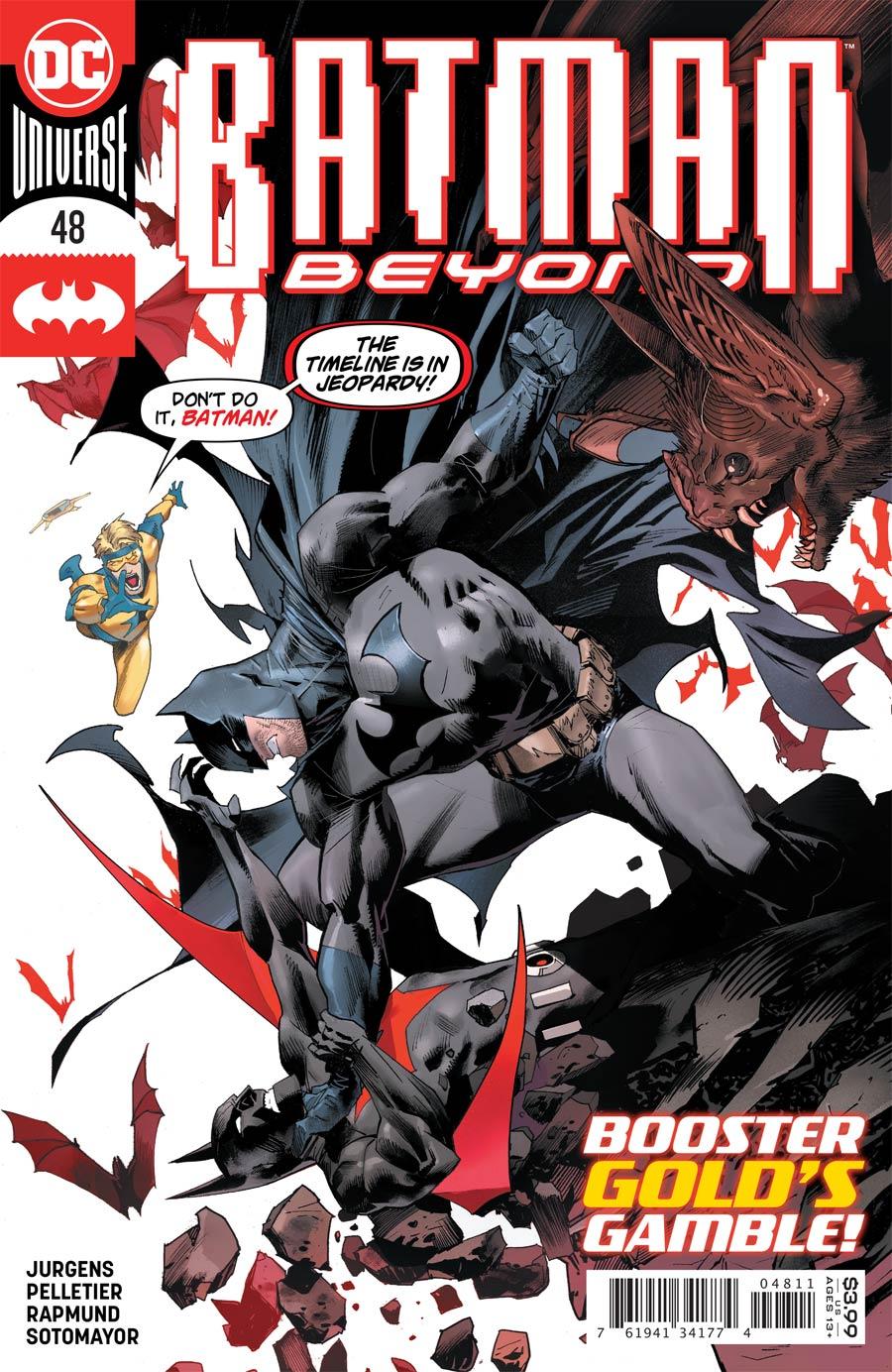 Batman Beyond Vol 6 #48 Cover A Regular Dan Mora Cover