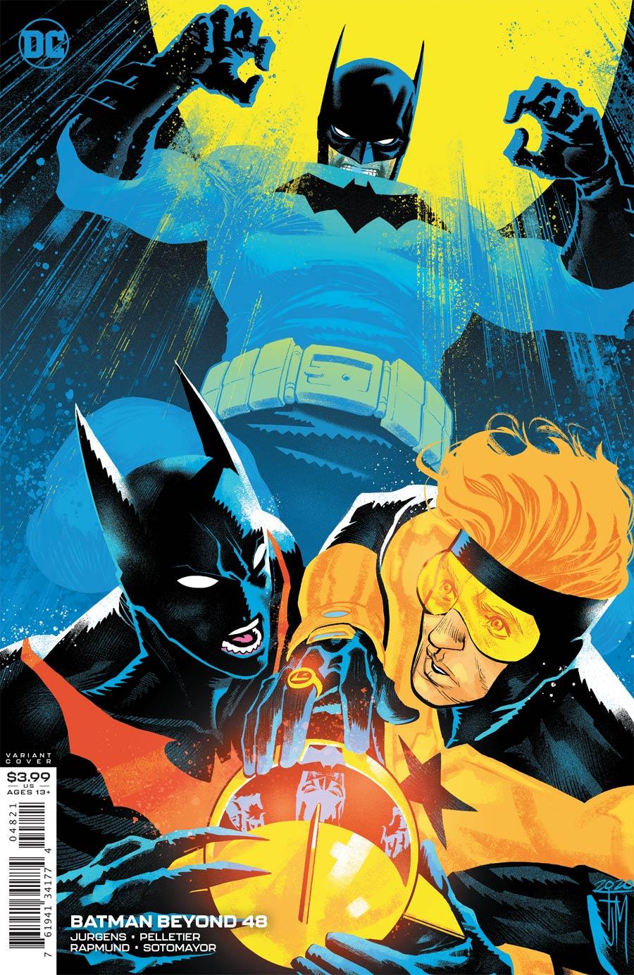 Batman Beyond Vol 6 #48 Cover B Variant Francis Manapul Cover