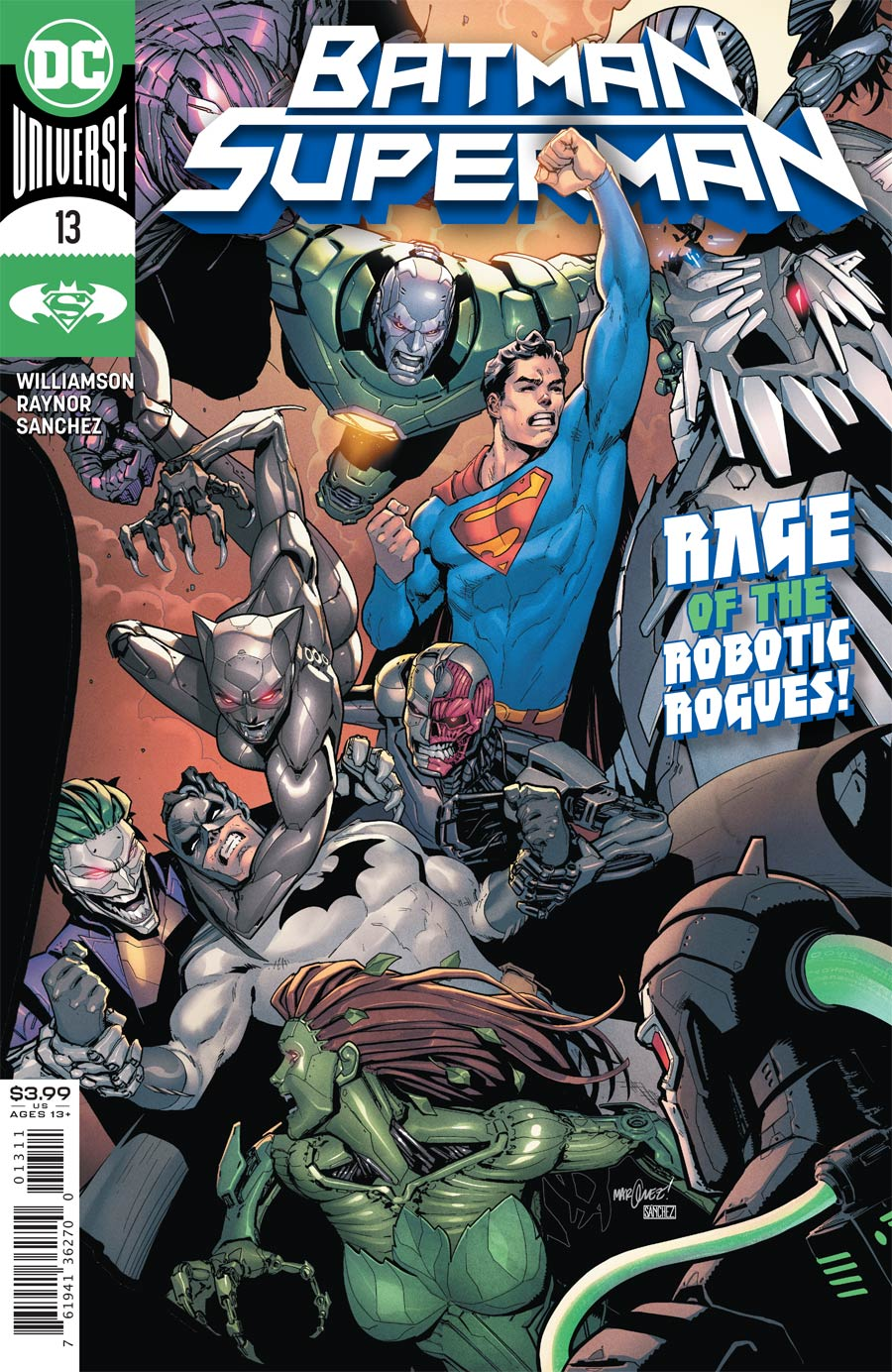 Batman Superman Vol 2 #13 Cover A Regular David Marquez Cover