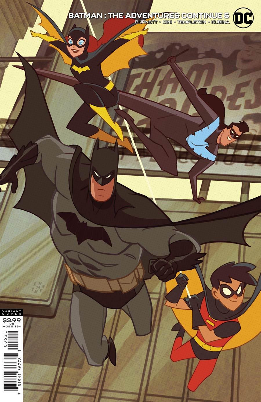 Batman The Adventures Continue #5 Cover B Variant Sean Cheeks Galloway Cover