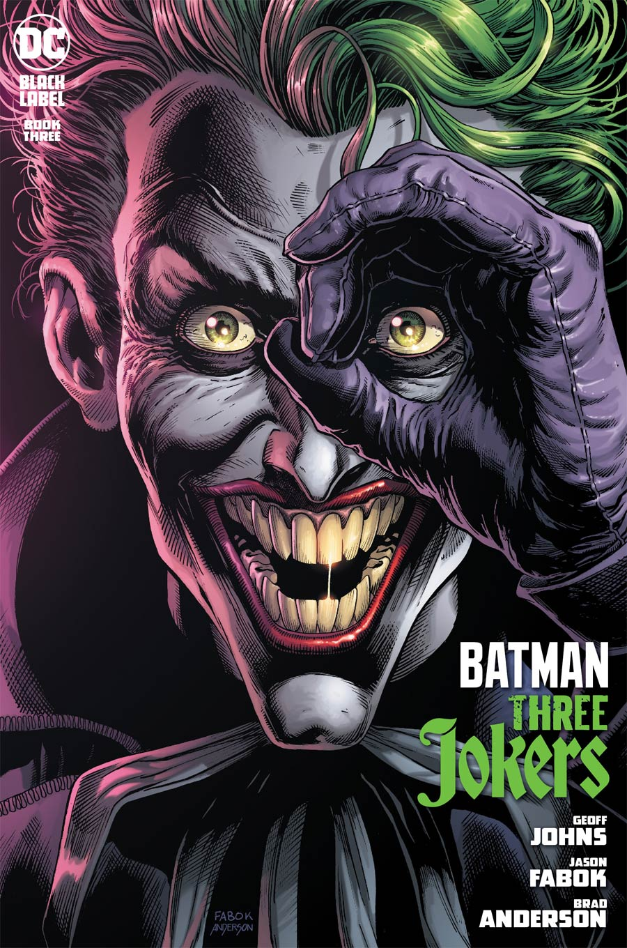 Batman Three Jokers #3 Cover A Regular Jason Fabok Joker Cover