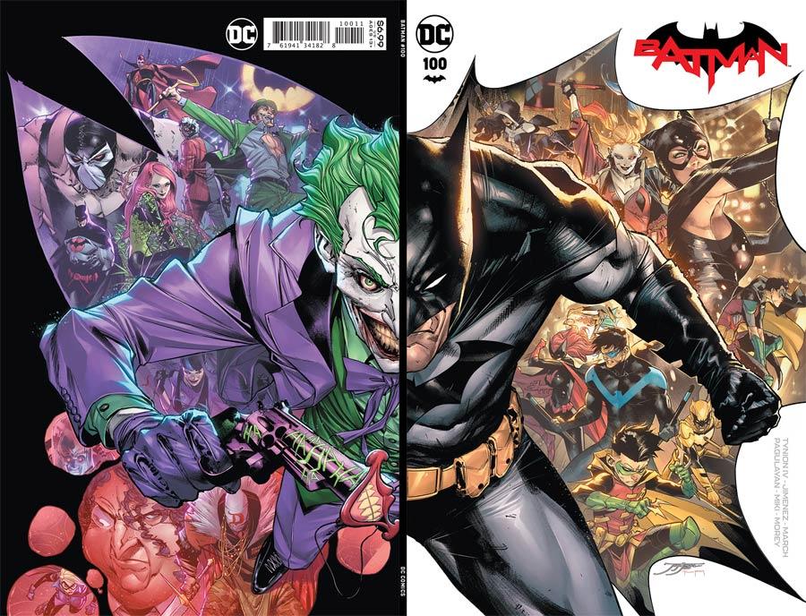 Batman Vol 3 #100 Cover A Regular Jorge Jimenez Wraparound Cover (Joker War Tie-In)