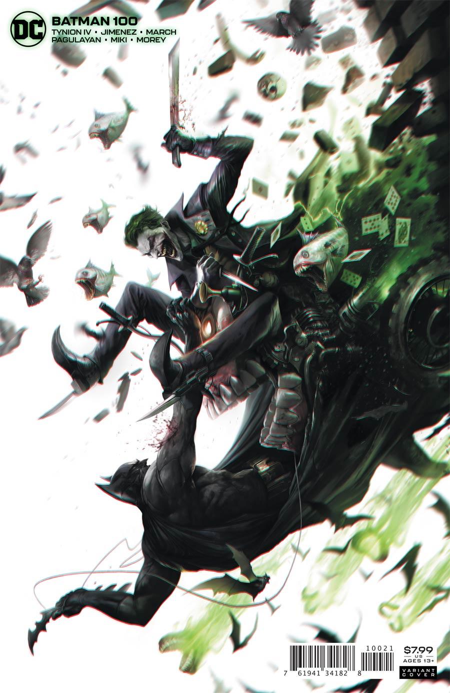 Batman Vol 3 #100 Cover B Variant Francesco Mattina Card Stock Cover (Joker War Tie-In)