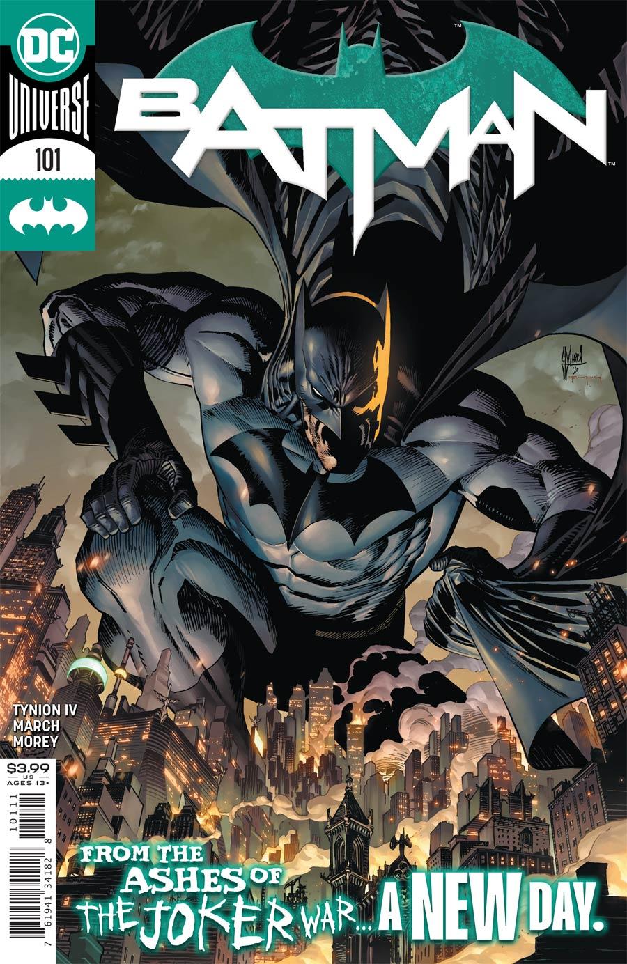 Batman Vol 3 #101 Cover A Regular Guillem March Cover (Joker War Aftermath Tie-In)