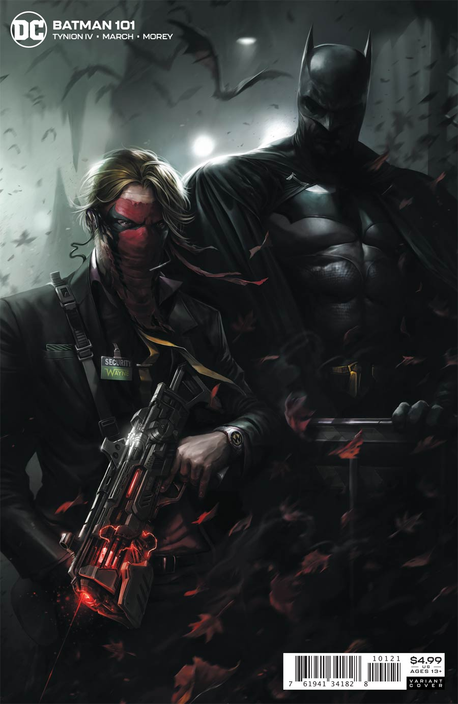 Batman Vol 3 #101 Cover B Variant Francesco Mattina Card Stock Cover (Joker War Aftermath Tie-In)