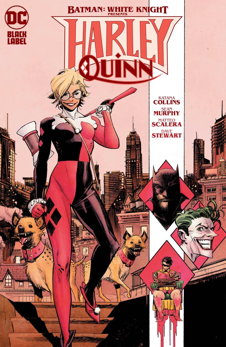 Batman White Knight Presents Harley Quinn #1 Cover A Regular Sean Murphy Cover