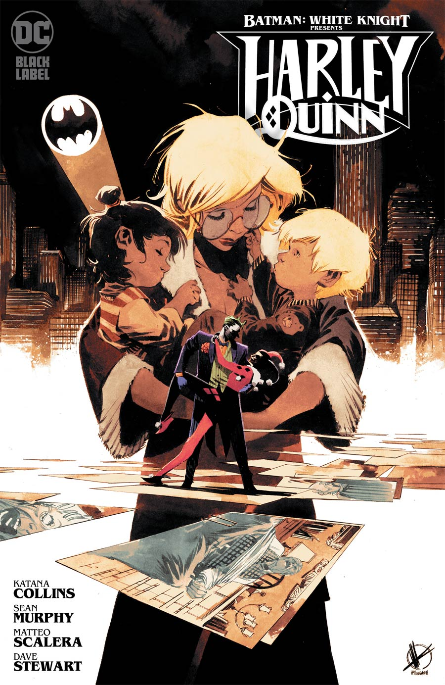 Batman White Knight Presents Harley Quinn #1 Cover B Variant Matteo Scalera Cover
