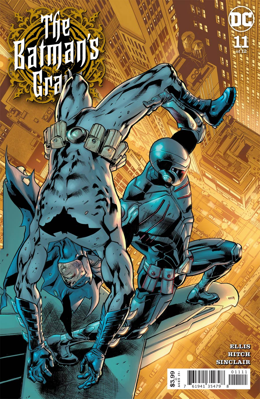 Batmans Grave #11 Cover A Regular Bryan Hitch Cover