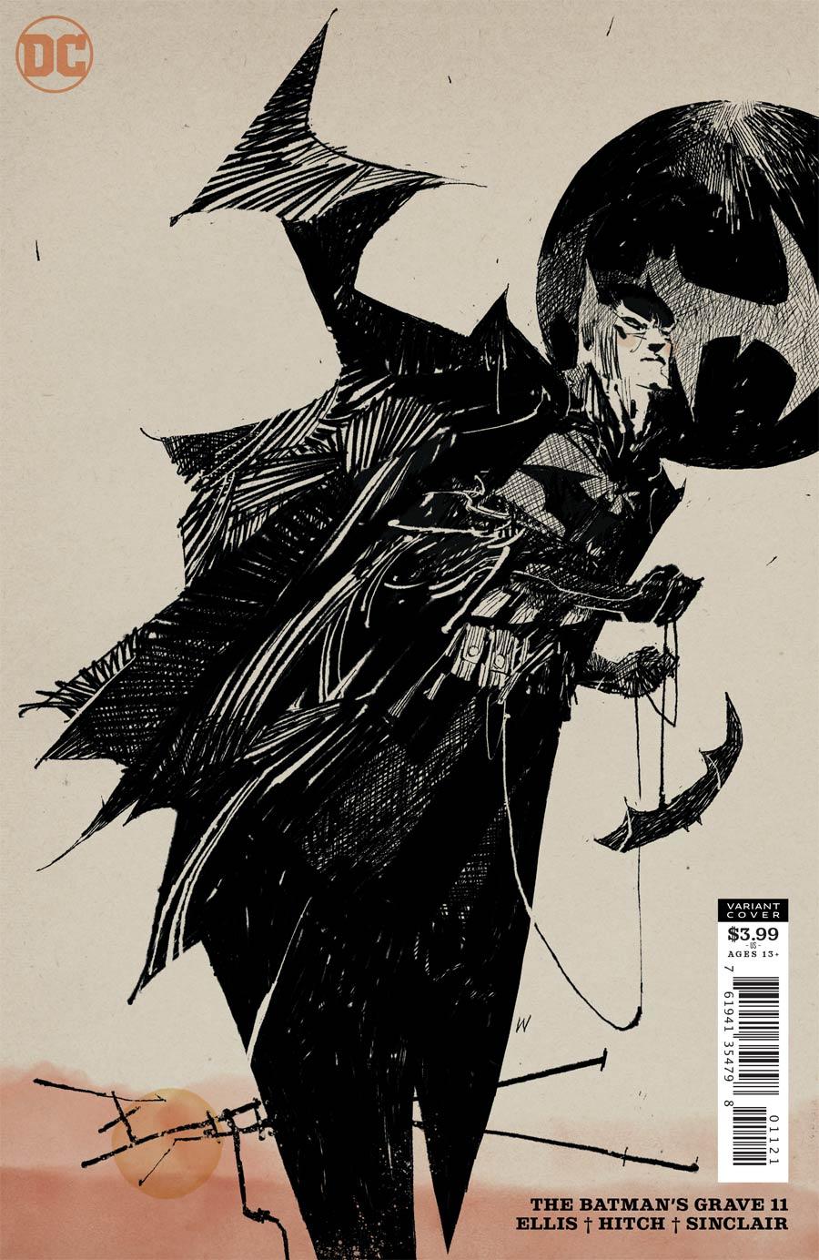 Batmans Grave #11 Cover B Variant Ashley Wood Cover