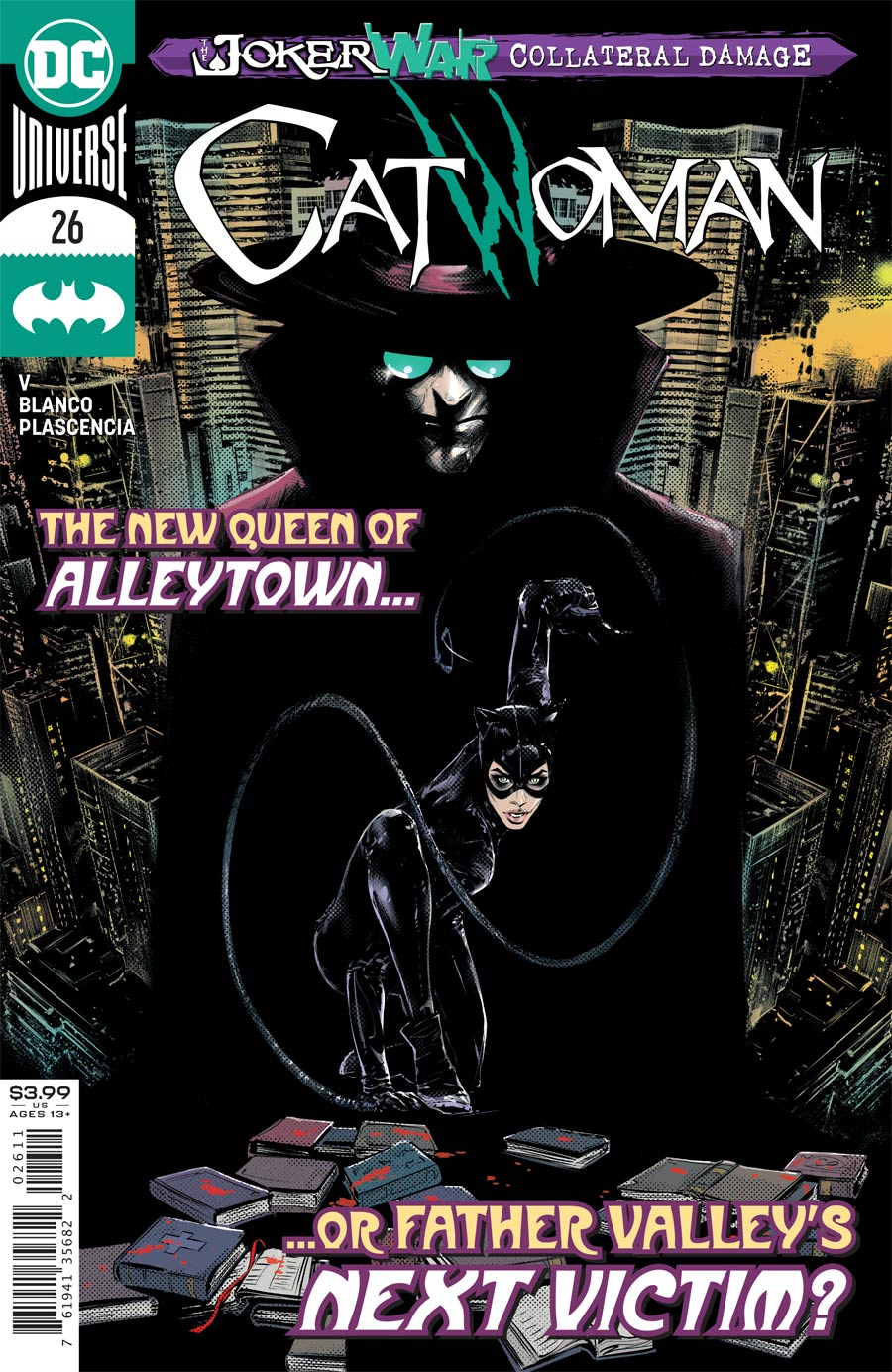 Catwoman Vol 5 #26 Cover A Regular Joelle Jones Cover (Joker War Fallout Tie-In)