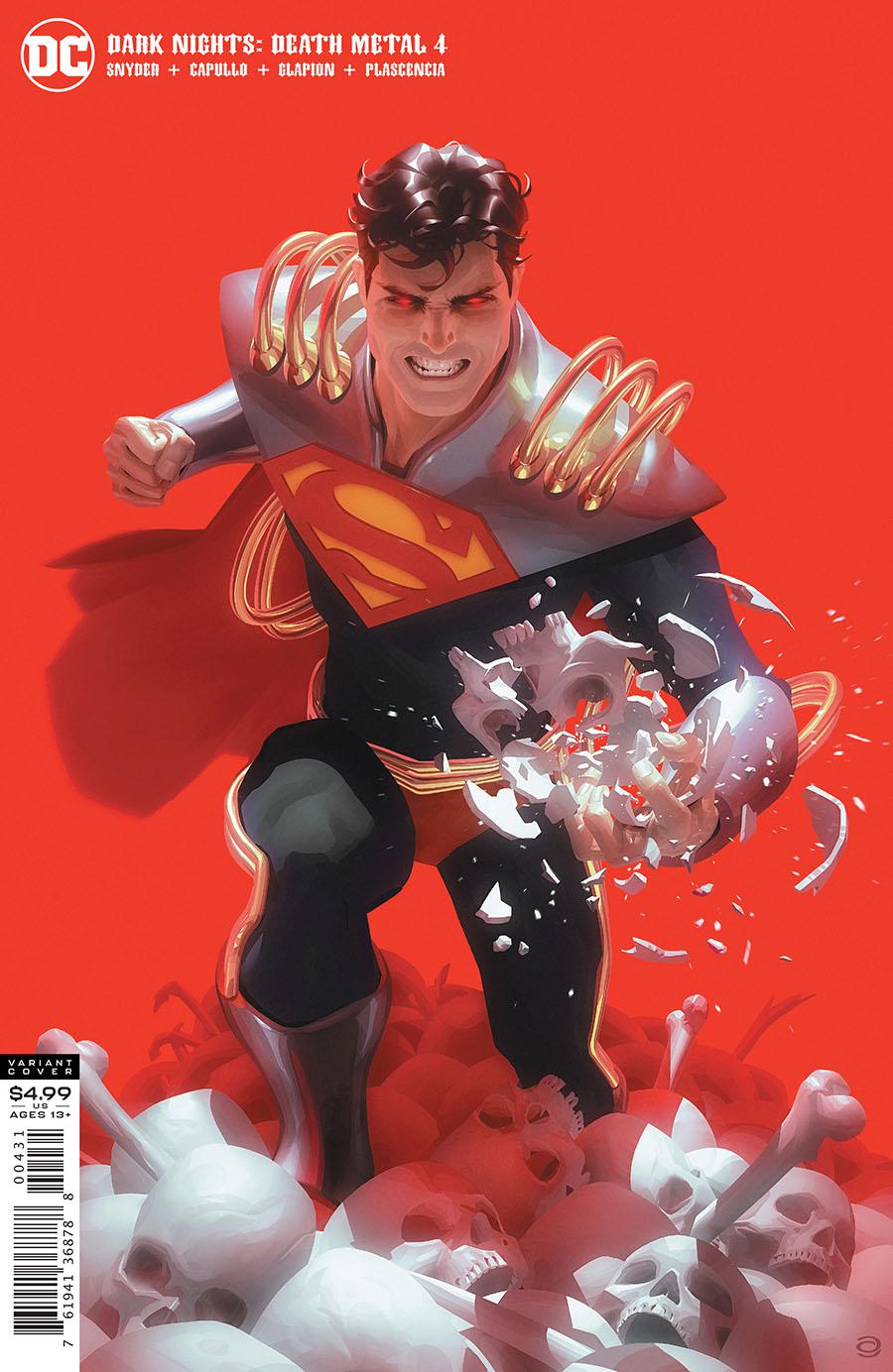 Dark Nights Death Metal #4 Cover C Variant Alex Garner Superboy-Prime Cover