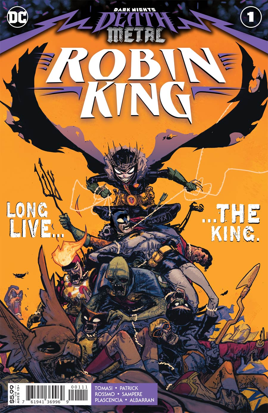 Dark Nights Death Metal Robin King One Shot Cover A Regular Riley Rossmo Cover