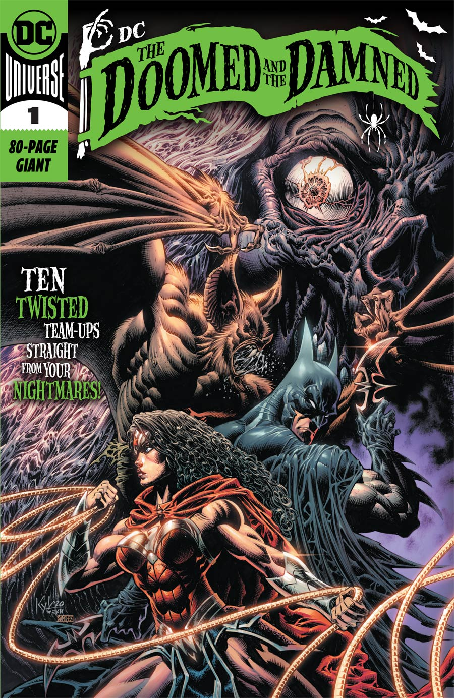 DC The Doomed And The Damned One Shot