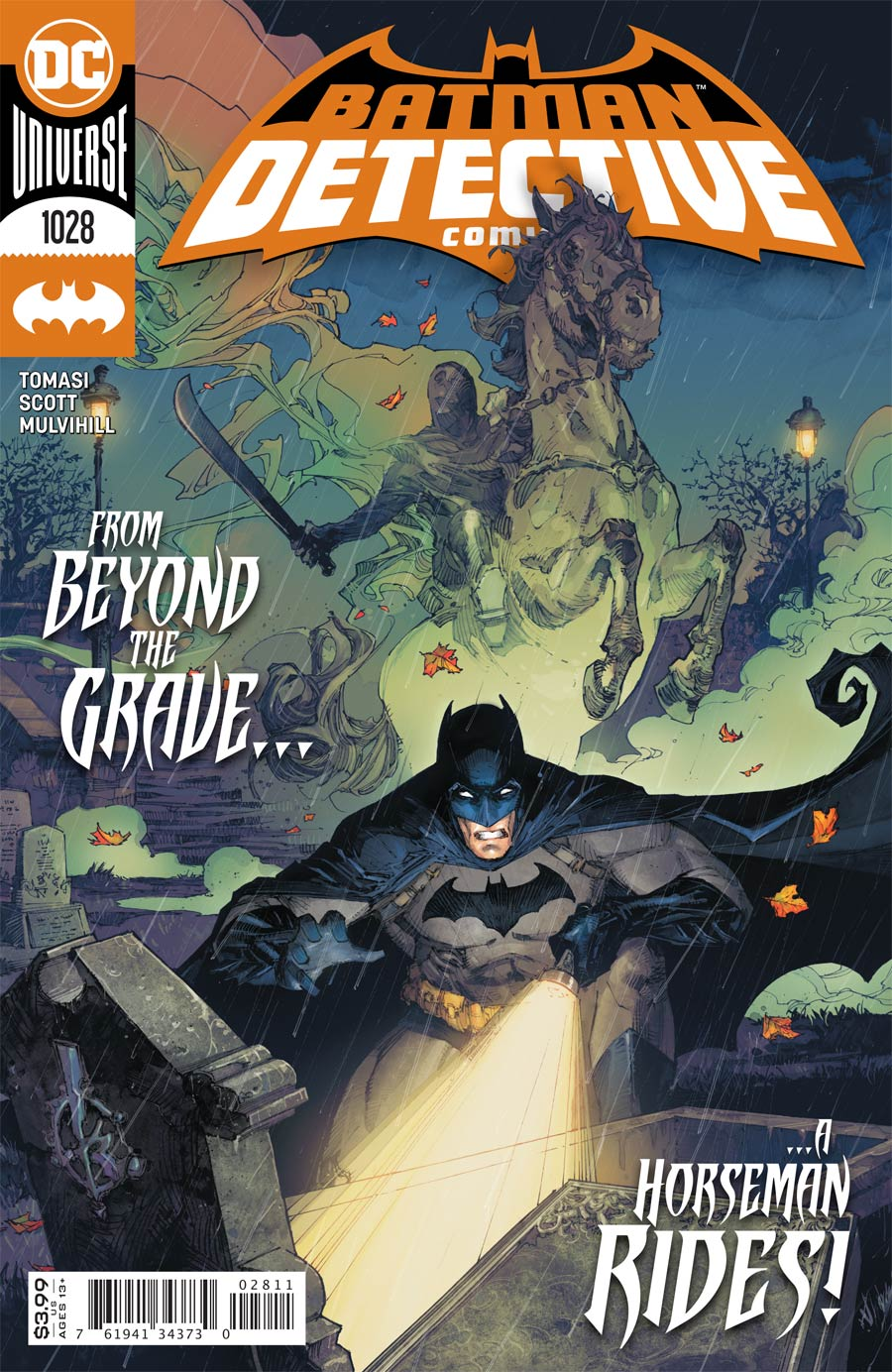 Detective Comics Vol 2 #1028 Cover A Regular Kenneth Rocafort Cover (Joker War Fallout Tie-In)