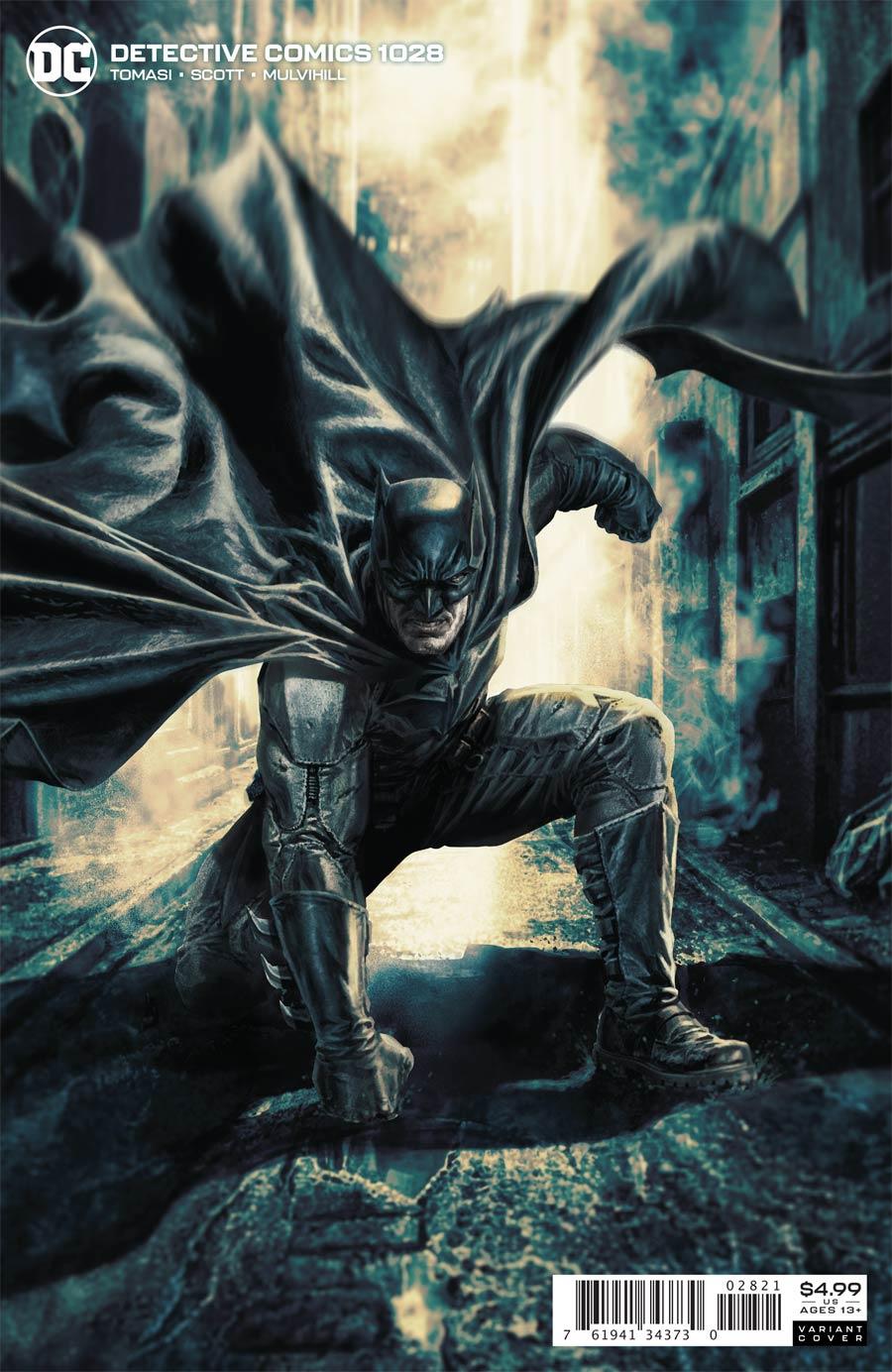 Detective Comics Vol 2 #1028 Cover B Variant Lee Bermejo Card Stock Cover (Joker War Fallout Tie-In)