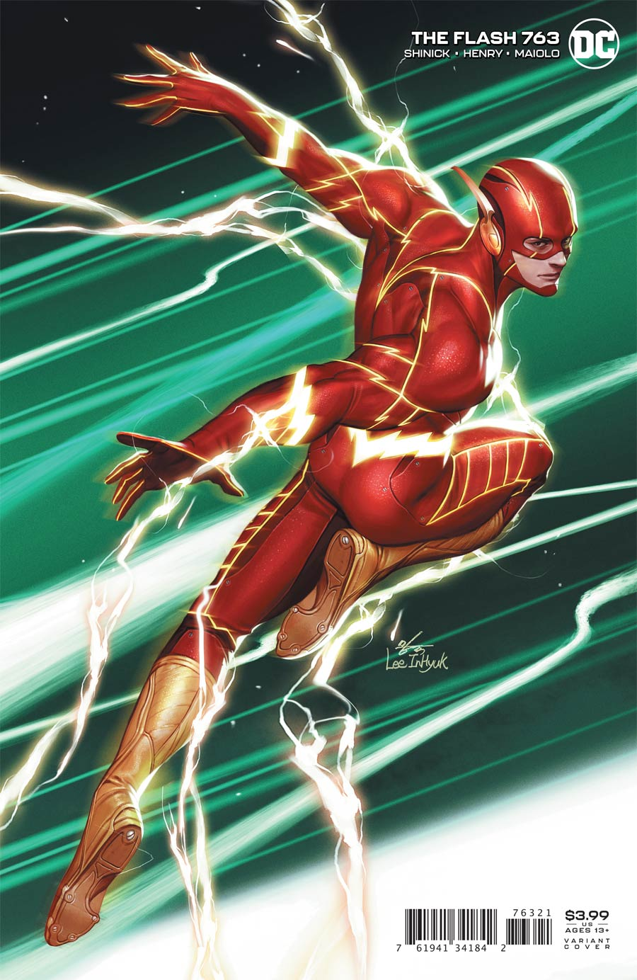 Flash Vol 5 #763 Cover B Variant Inhyuk Lee Cover