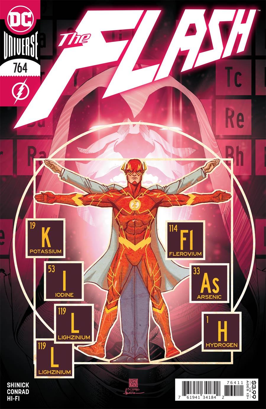 Flash Vol 5 #764 Cover A Regular Bernard Chang Cover