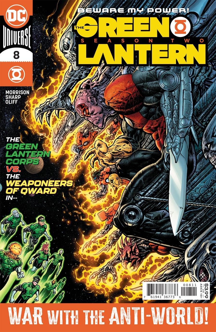 Green Lantern Vol 6 Season 2 #8 Cover A Regular Liam Sharp Cover