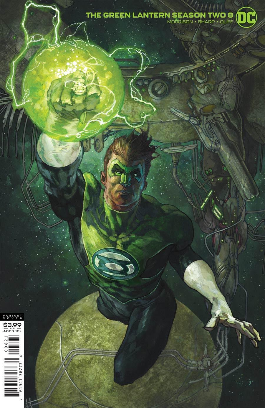 Green Lantern Vol 6 Season 2 #8 Cover B Variant Simone Bianchi Cover