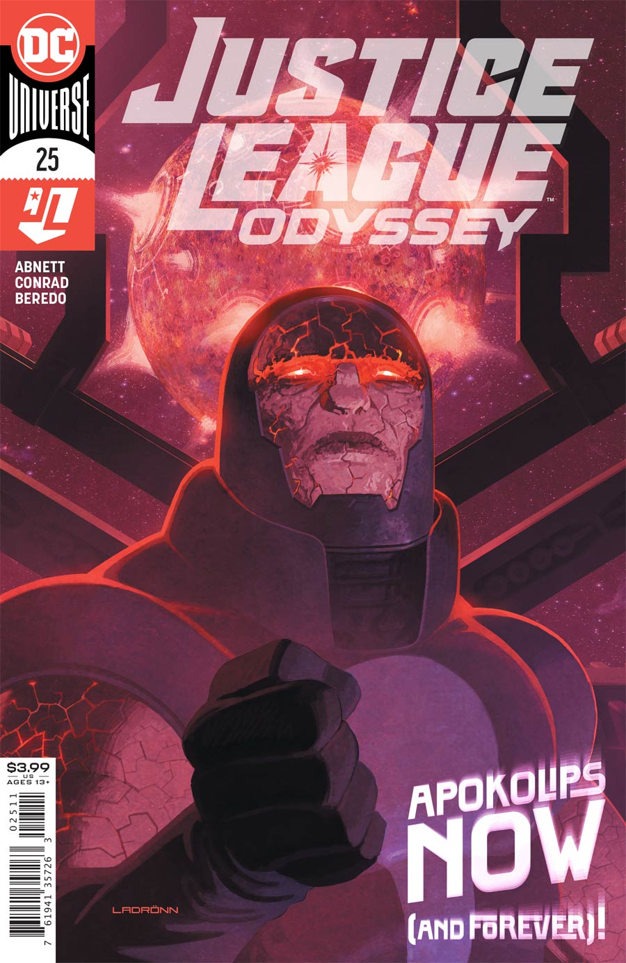 Justice League Odyssey #25 Cover A Regular Ladronn Cover