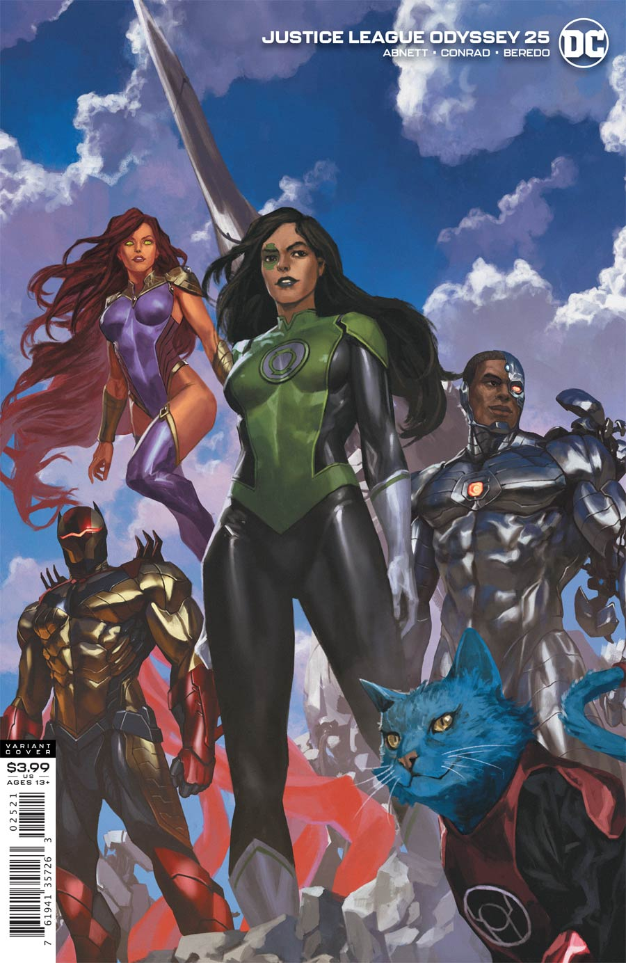 Justice League Odyssey #25 Cover B Variant Skan Cover