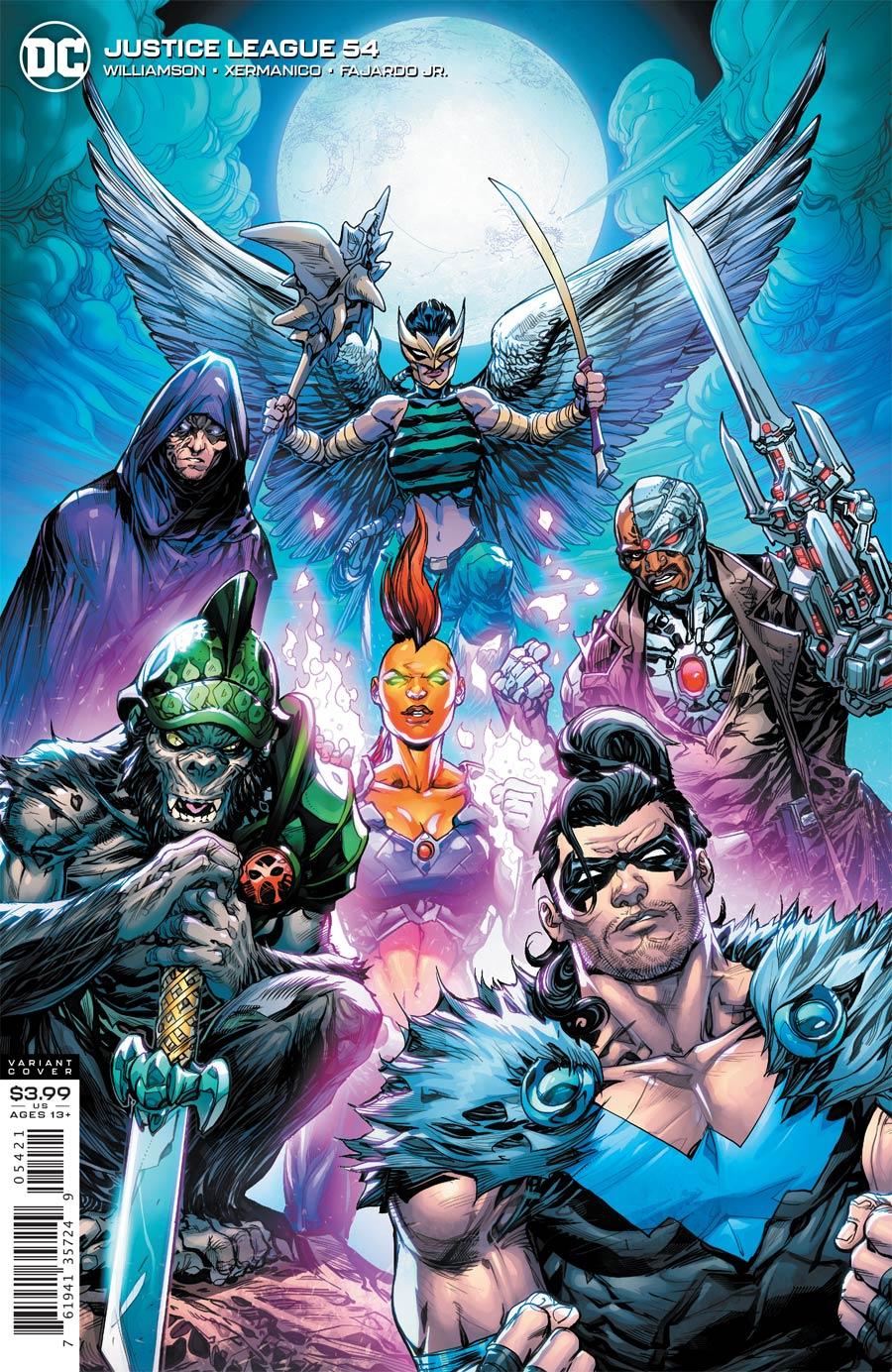 Justice League Vol 4 #54 Cover B Variant Howard Porter Cover (Dark Nights Death Metal Tie-In)
