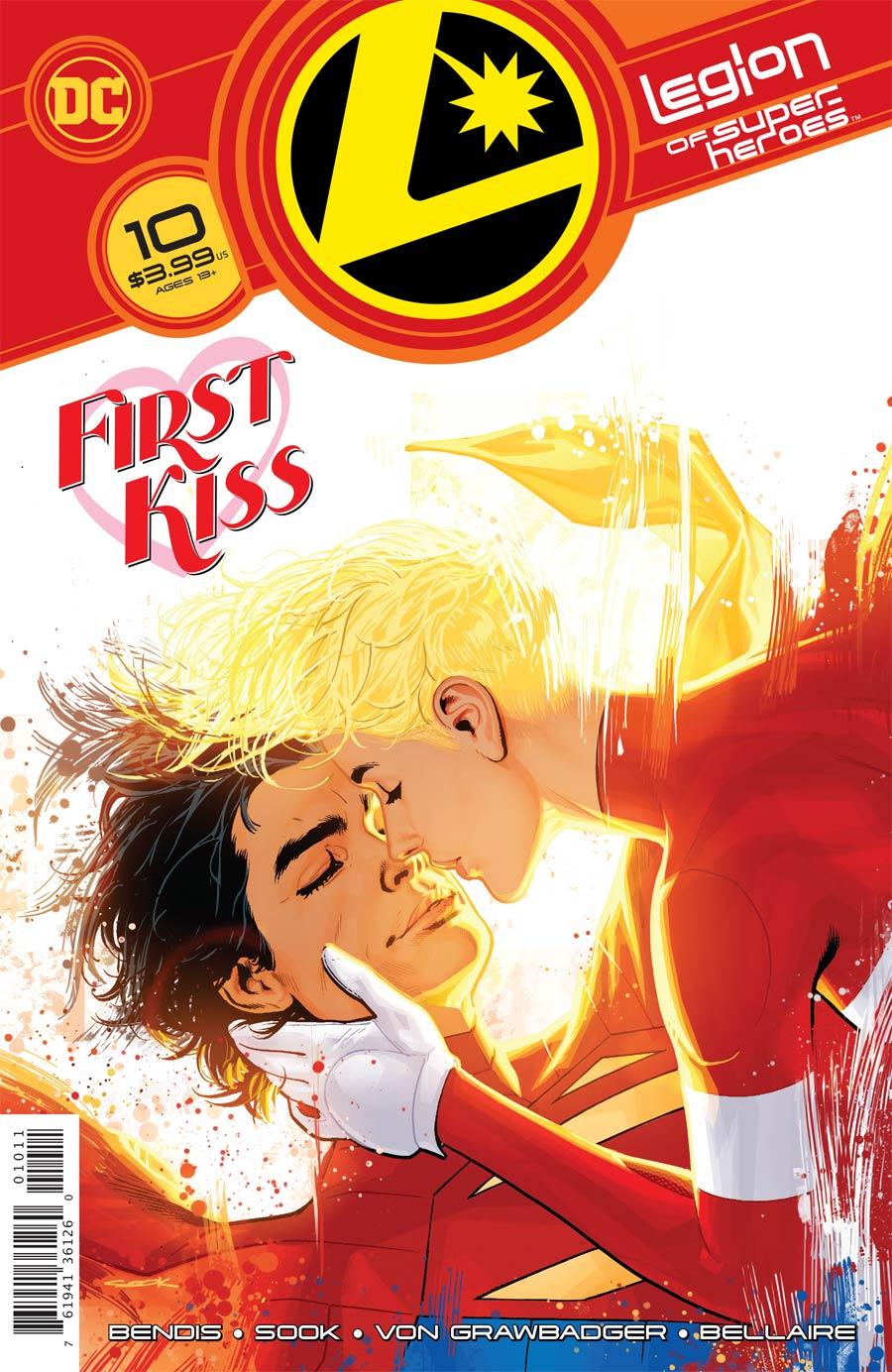 Legion Of Super-Heroes Vol 8 #10 Cover A Regular Ryan Sook Cover